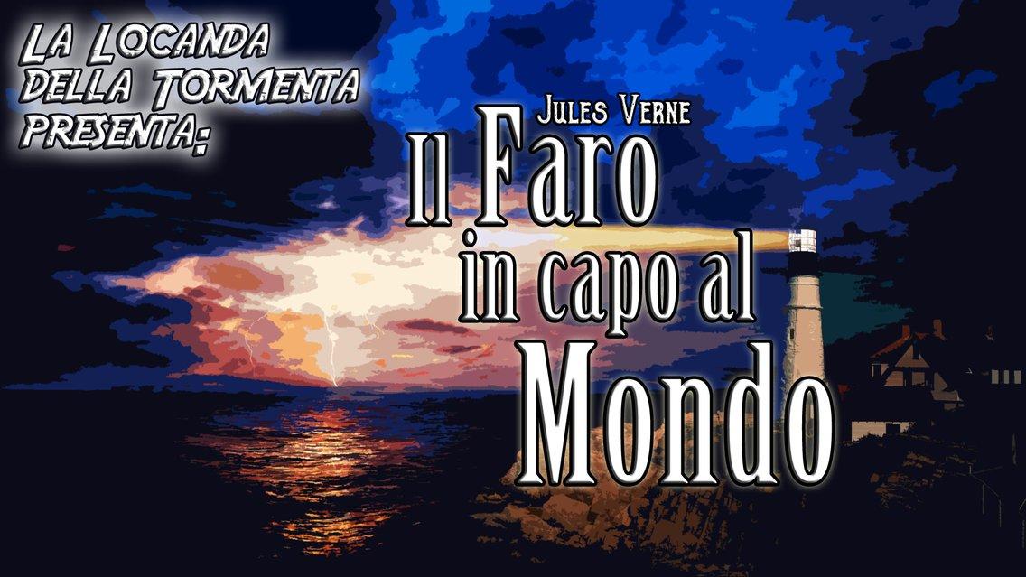 Audiolibro Il Faro in capo al Mondo - Jules Verne - immagine di copertina