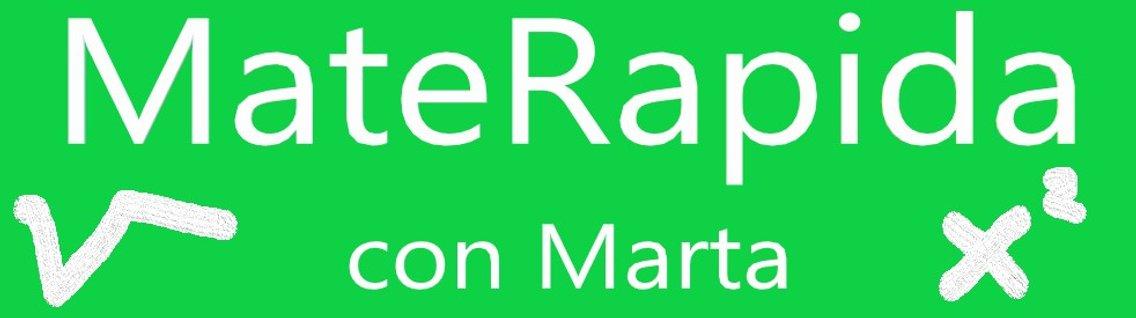 MateRapida con Marta - Cover Image