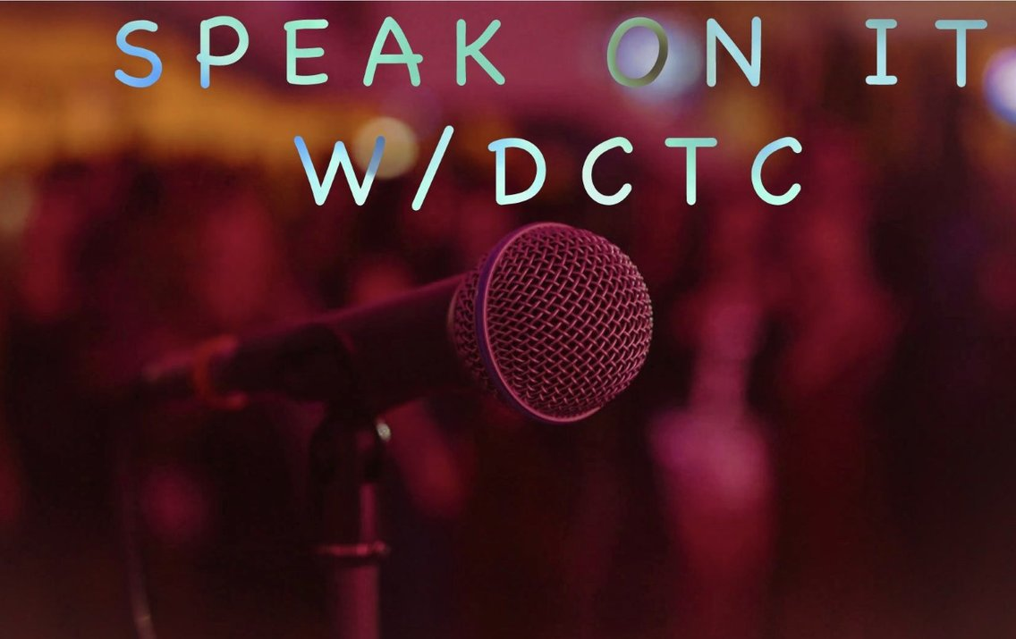Speak On It with DCTC - Cover Image