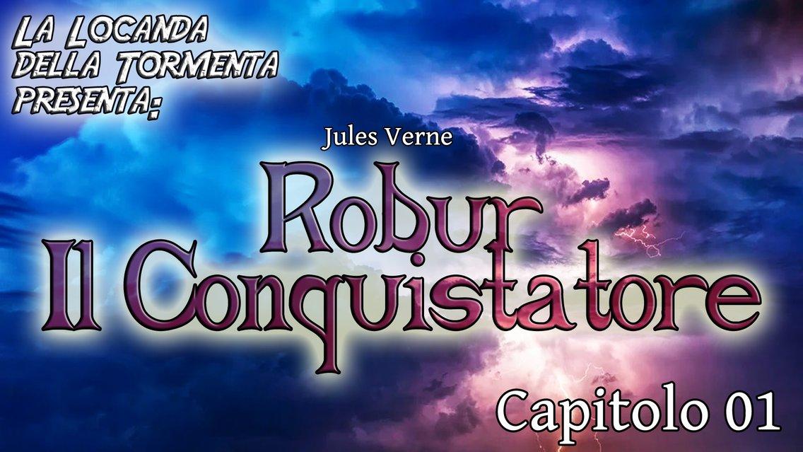 Audiolibro Robur il conquistatore - Jules Verne - immagine di copertina
