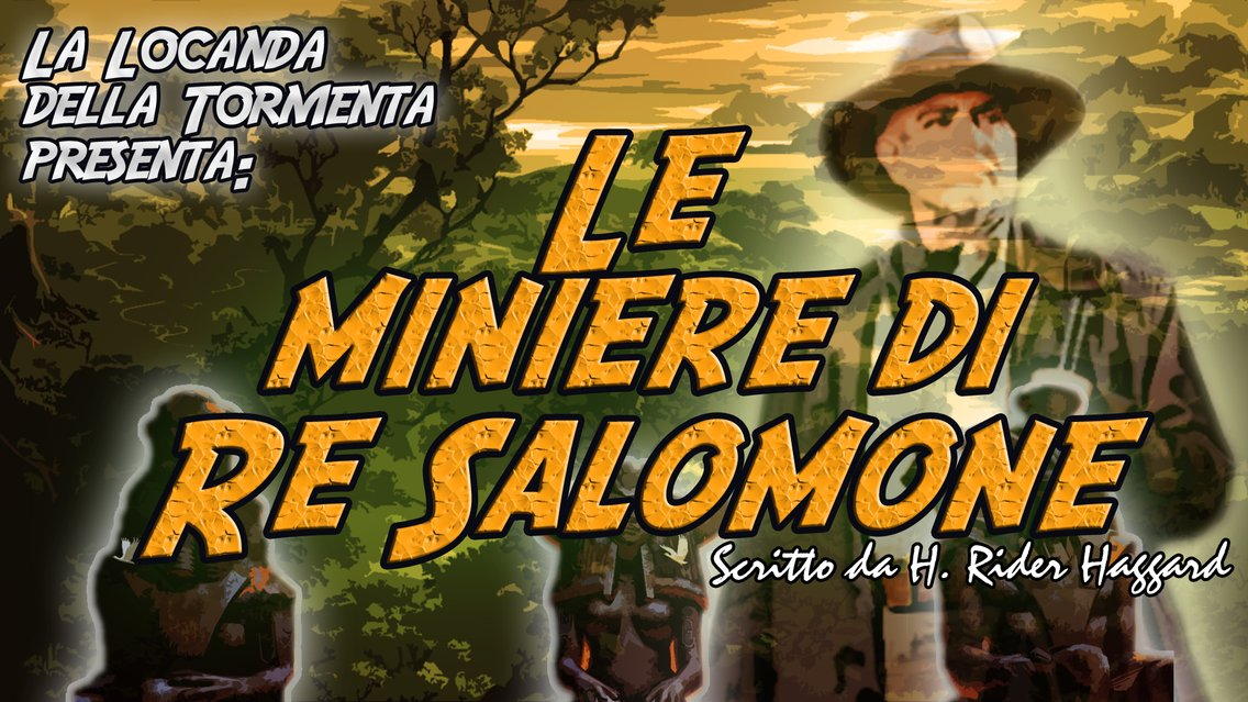 Audiolibro Le miniere di Re Salomone - H.Haggard - immagine di copertina