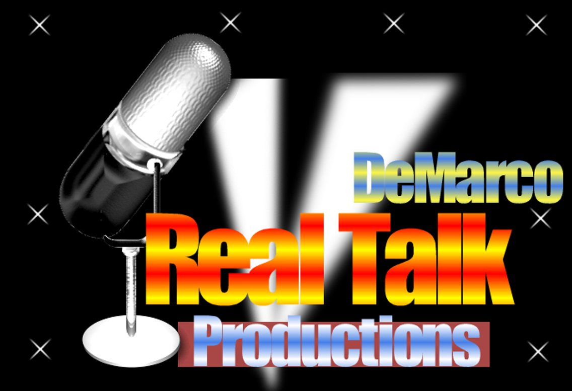 DeMarco Real Talk Radio - Cover Image