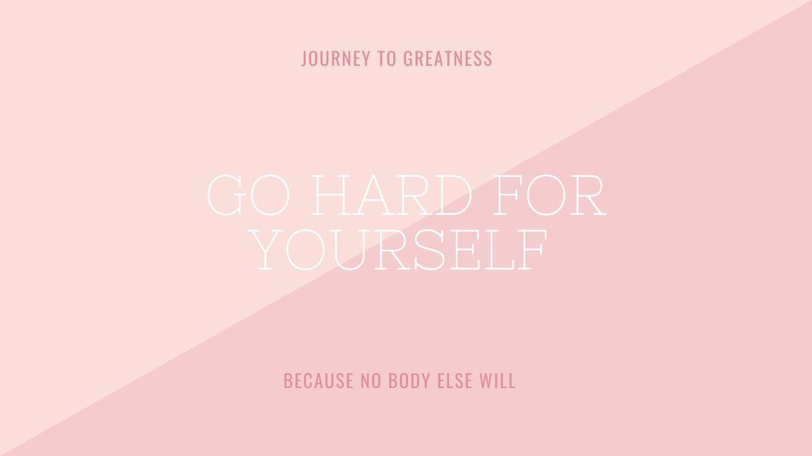 Go Hard For Yourself - Cover Image