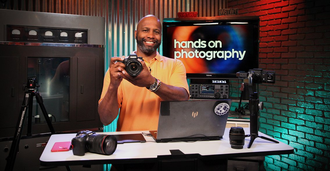 Hands-On Photography - Cover Image