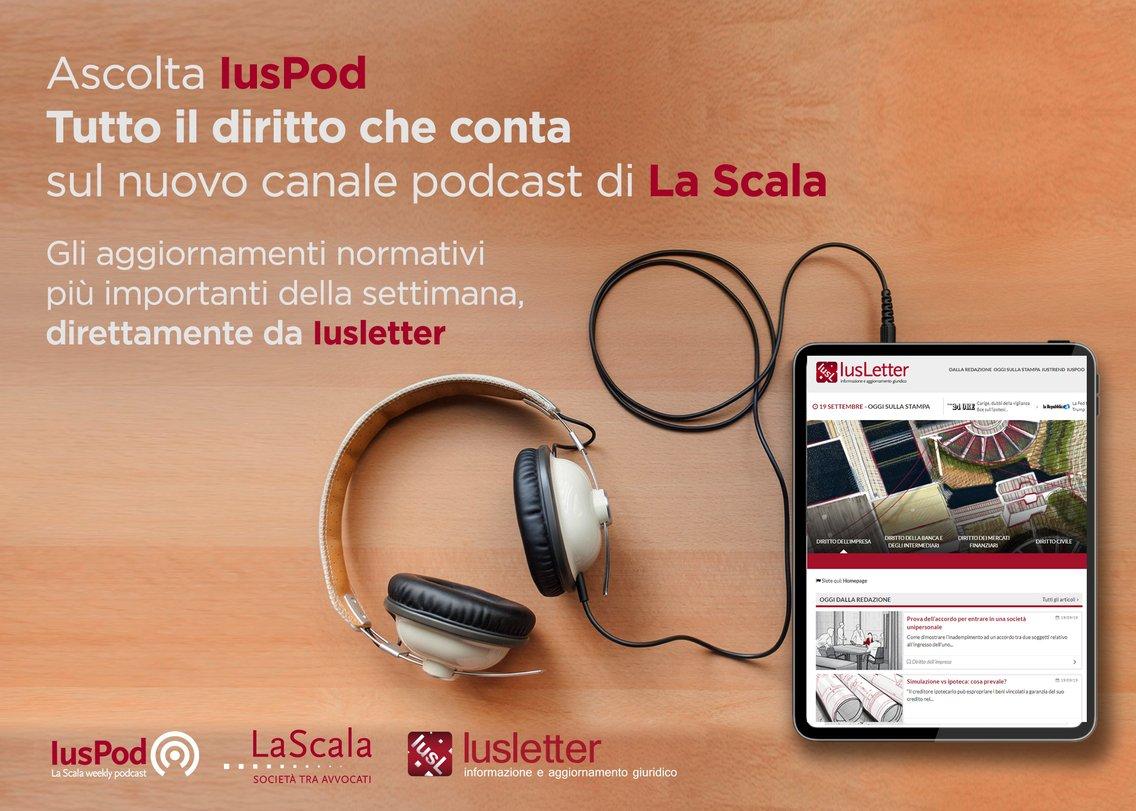 IusPod - La Scala weekly podcast - immagine di copertina