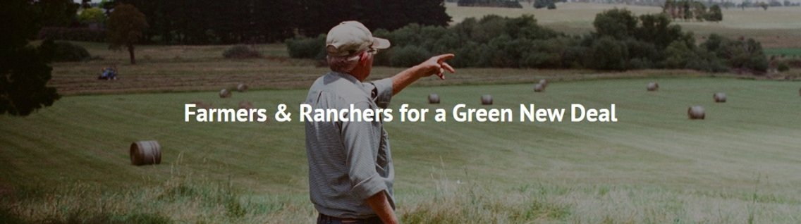 Farmers & Ranchers For a Green New Deal - Cover Image