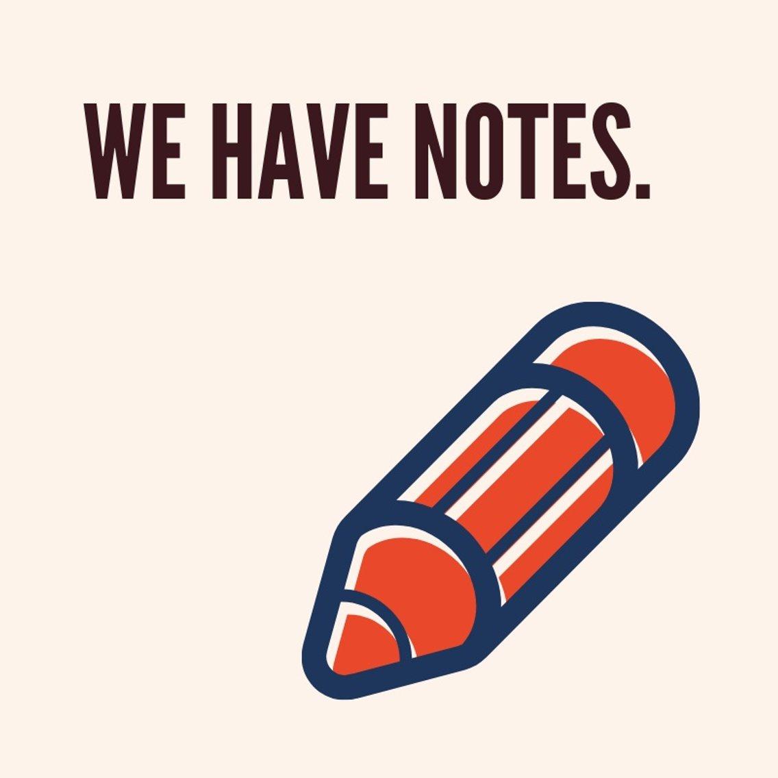 We Have Notes - imagen de portada