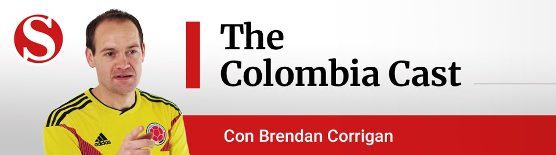 The Colombia Cast - Cover Image