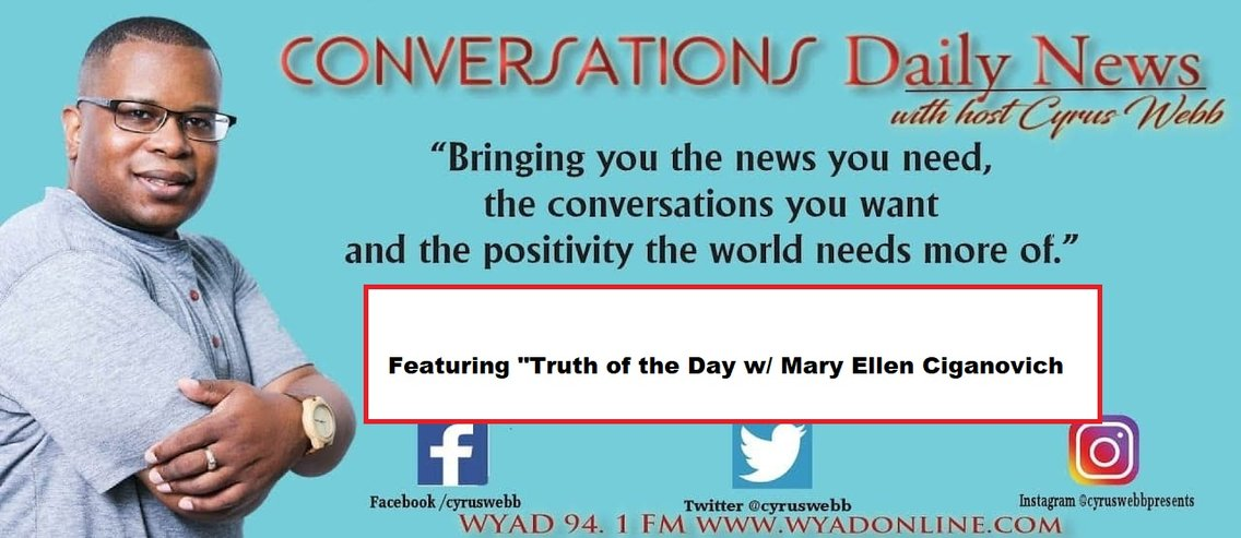 Conversations Daily News with host Cyrus Webb - imagen de portada