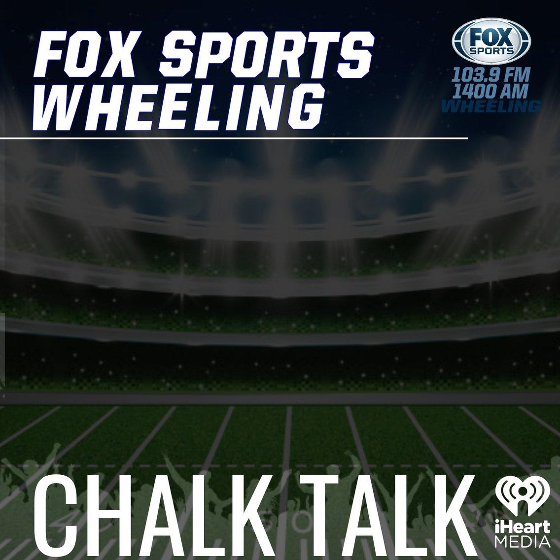 Fox Sports Wheeling Chalk Talk Podcast - Cover Image