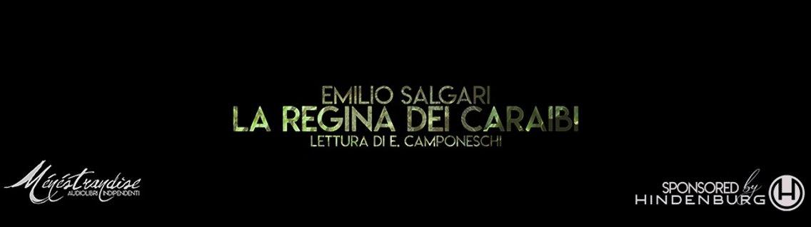 La Regina dei Caraibi - E. Salgari - imagen de portada