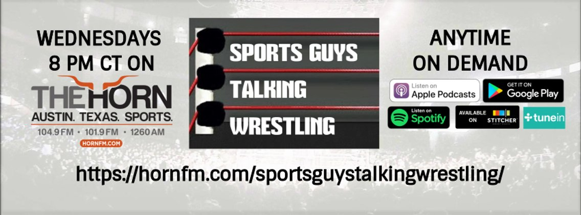 Sports Guys Talking Wrestling - Cover Image