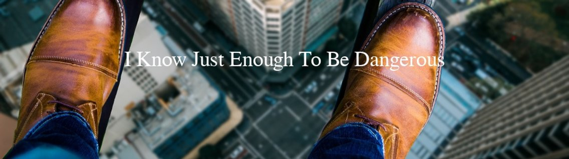 I Know Just Enough To Be Dangerous - Cover Image