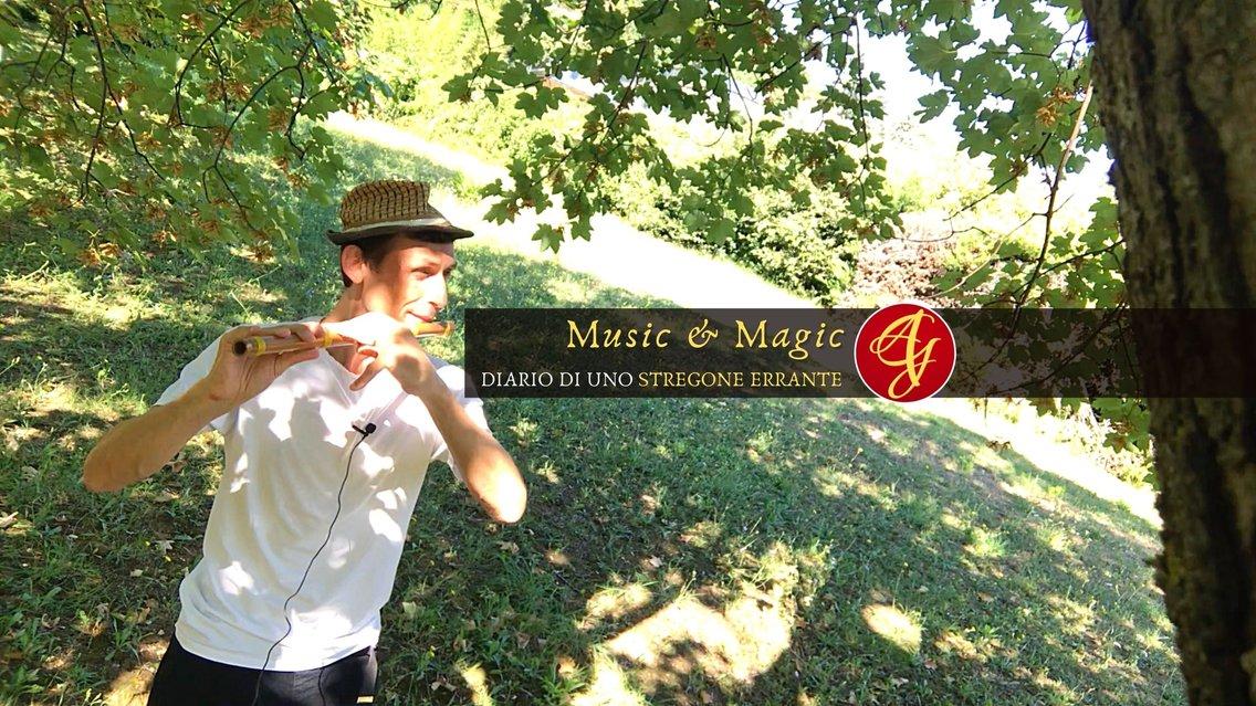 Music & Magic   Diario di uno Stregone Errante - Cover Image