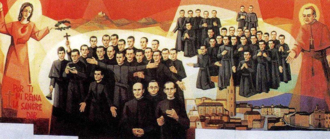 Mártires del siglo XX en España - imagen de portada