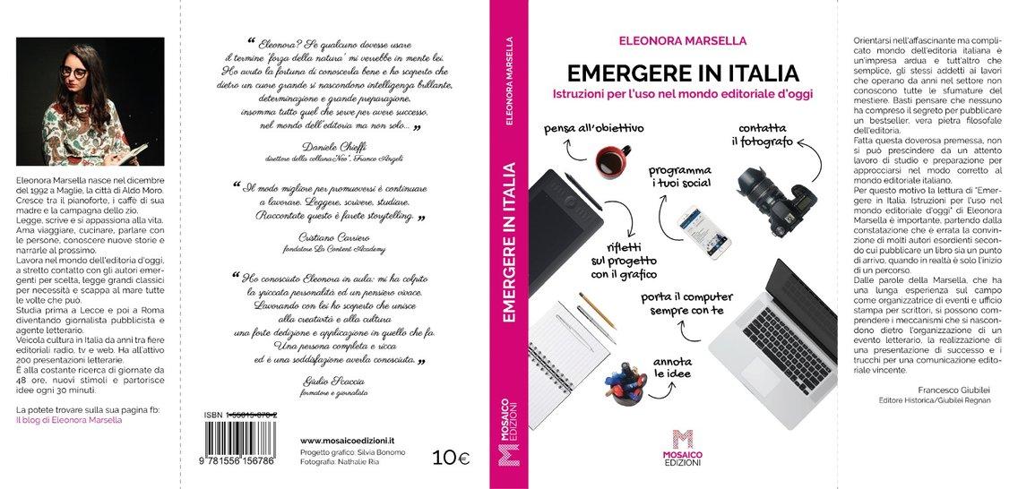 """""""Emergere in Italia"""" di EleonoraMarsella - Cover Image"""