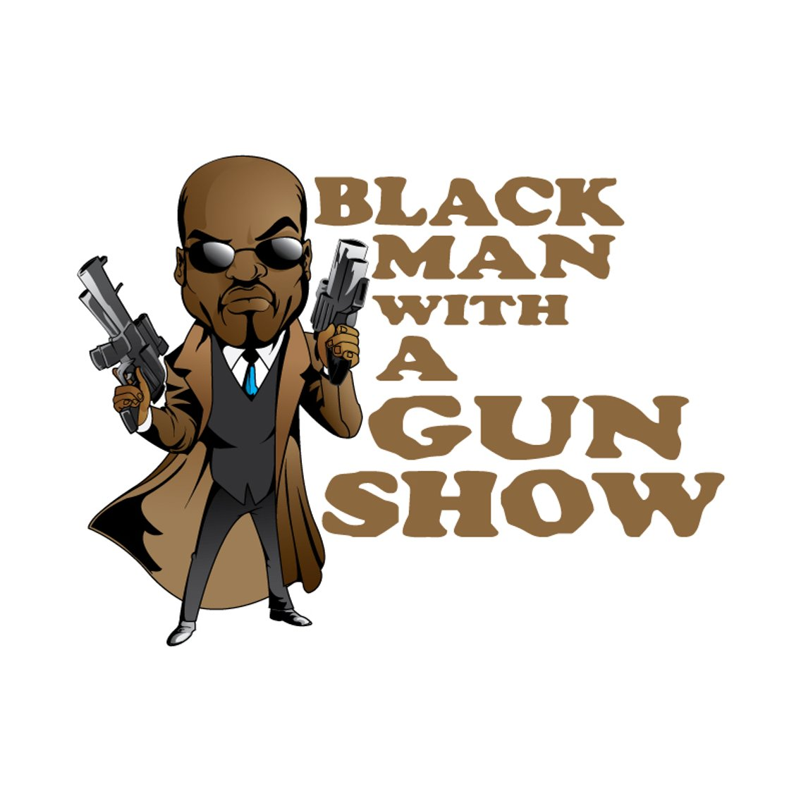 Black Man With A Gun Show - imagen de portada