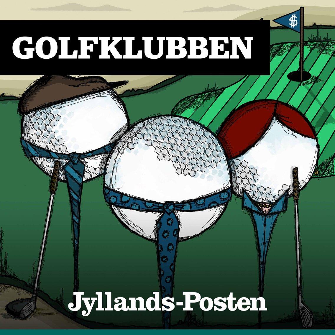 Golfklubben - Cover Image