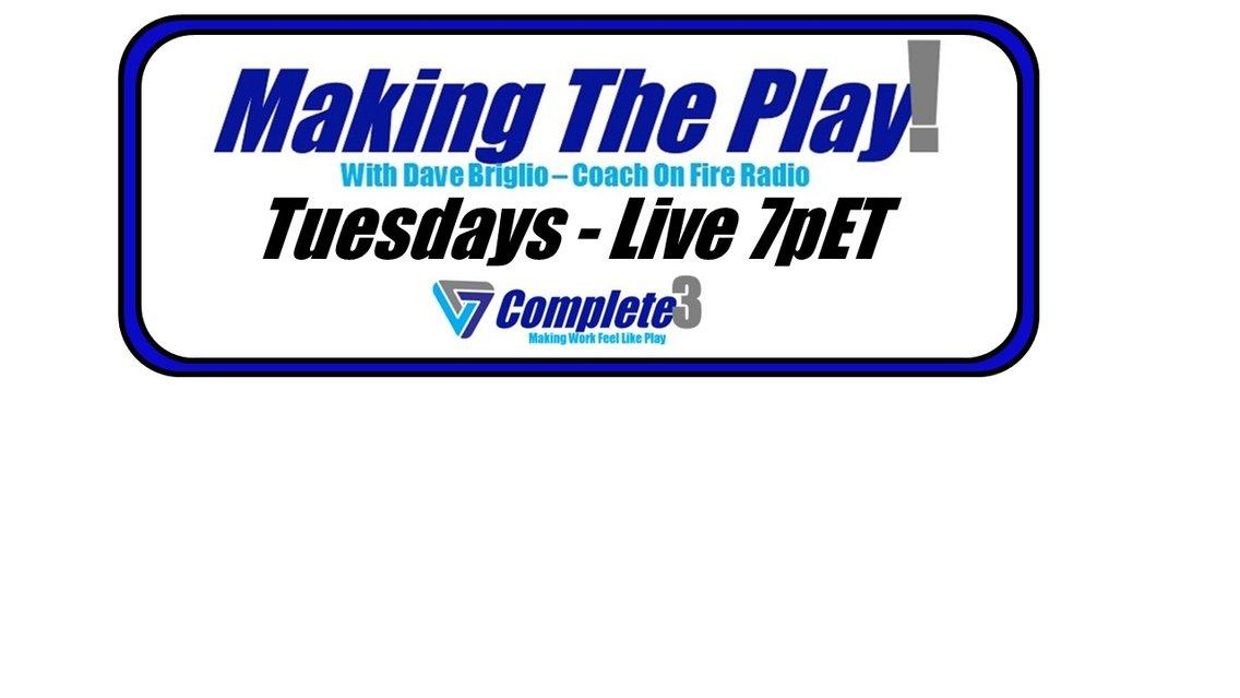 Making The Play with Dave Briglio - imagen de portada