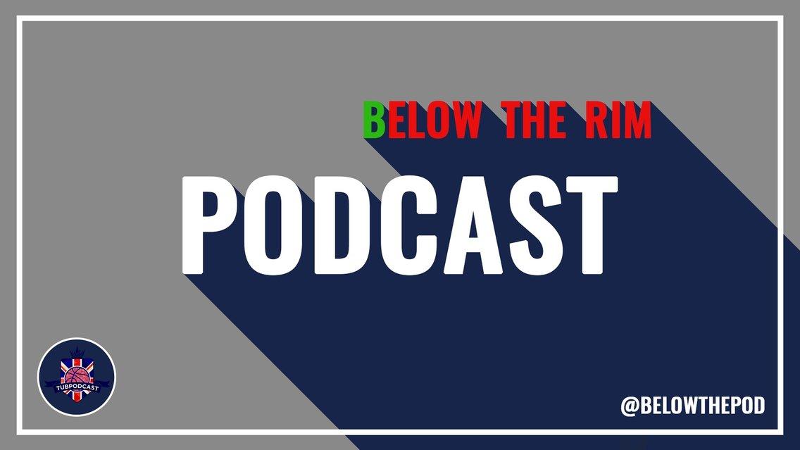 BELOW THE RIM - immagine di copertina