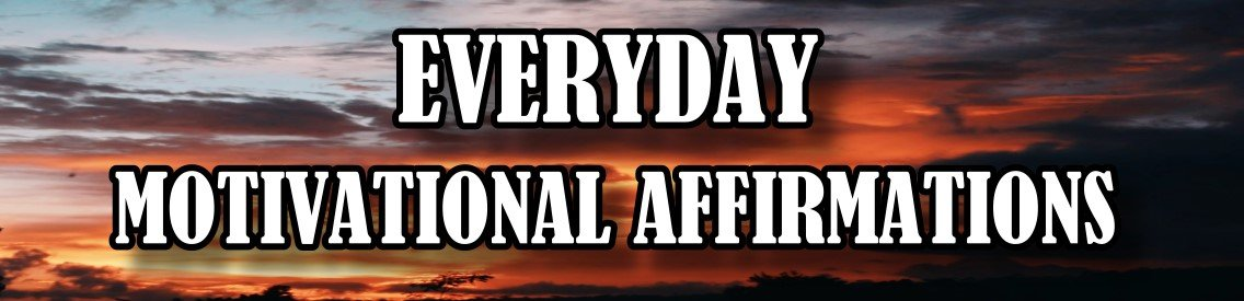Everyday Motivational Affirmations - immagine di copertina