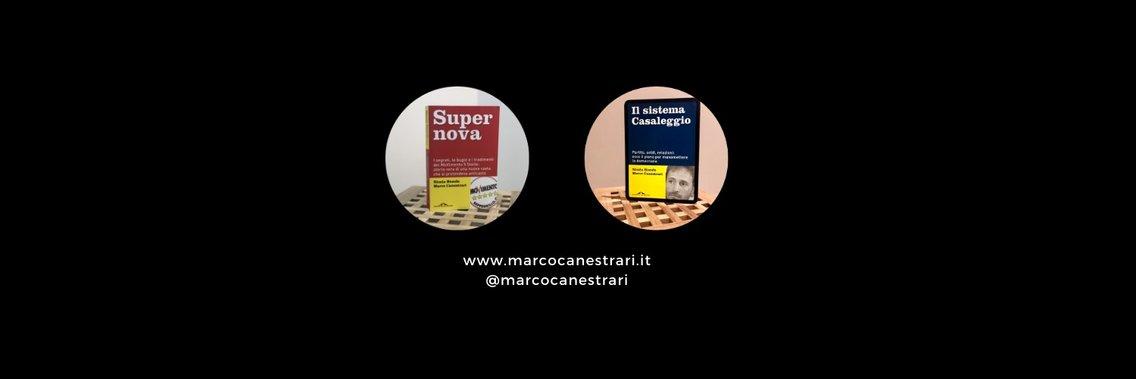 Il podcast di Marco Canestrari - Cover Image
