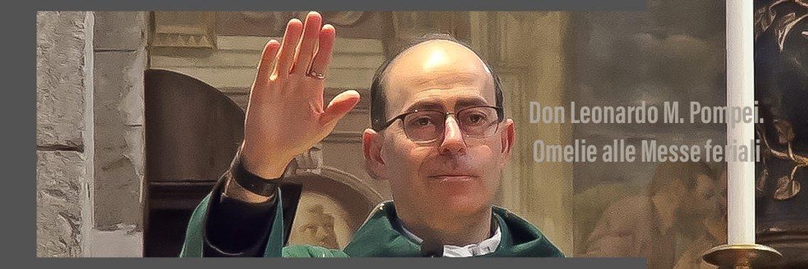 Omelie di don Leonardo alle Messe feriali - immagine di copertina