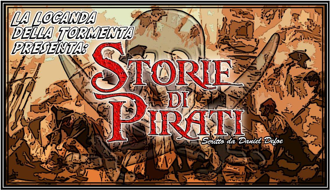 Audiolibro Storie di Pirati - Defoe - immagine di copertina