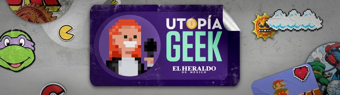 Utopía Geek - immagine di copertina