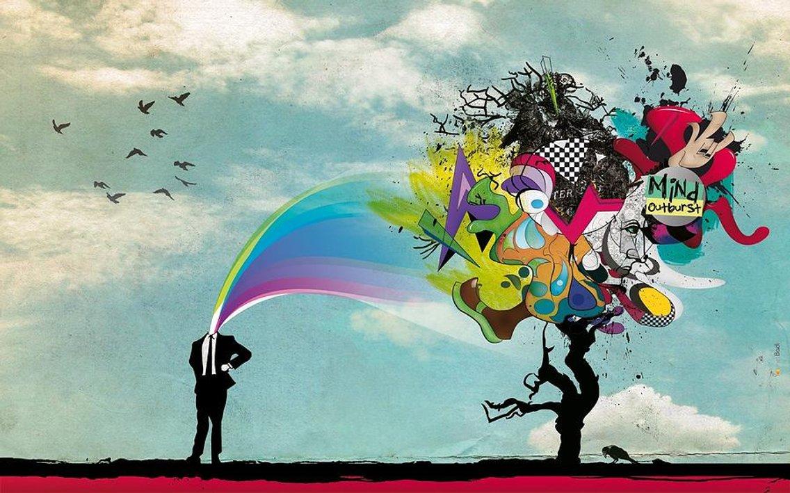Arroe Collins Creativity Is The Addiction - immagine di copertina