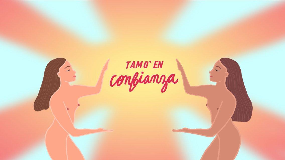 Tamo' en Confianza - Cover Image
