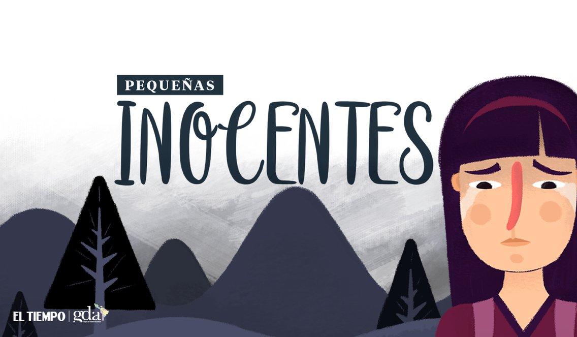 Pequeñas inocentes - Cover Image