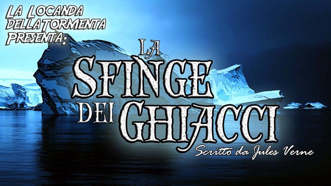 Audiolibro La Sfinge dei Ghiacci - J. Verne - immagine di copertina