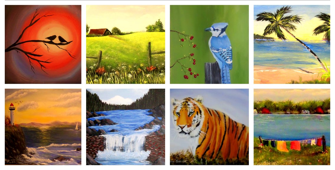 Tips To Get  Started With Acrylic Paint - Cover Image