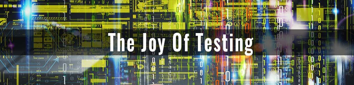 THE JOY OF TESTING - Cover Image