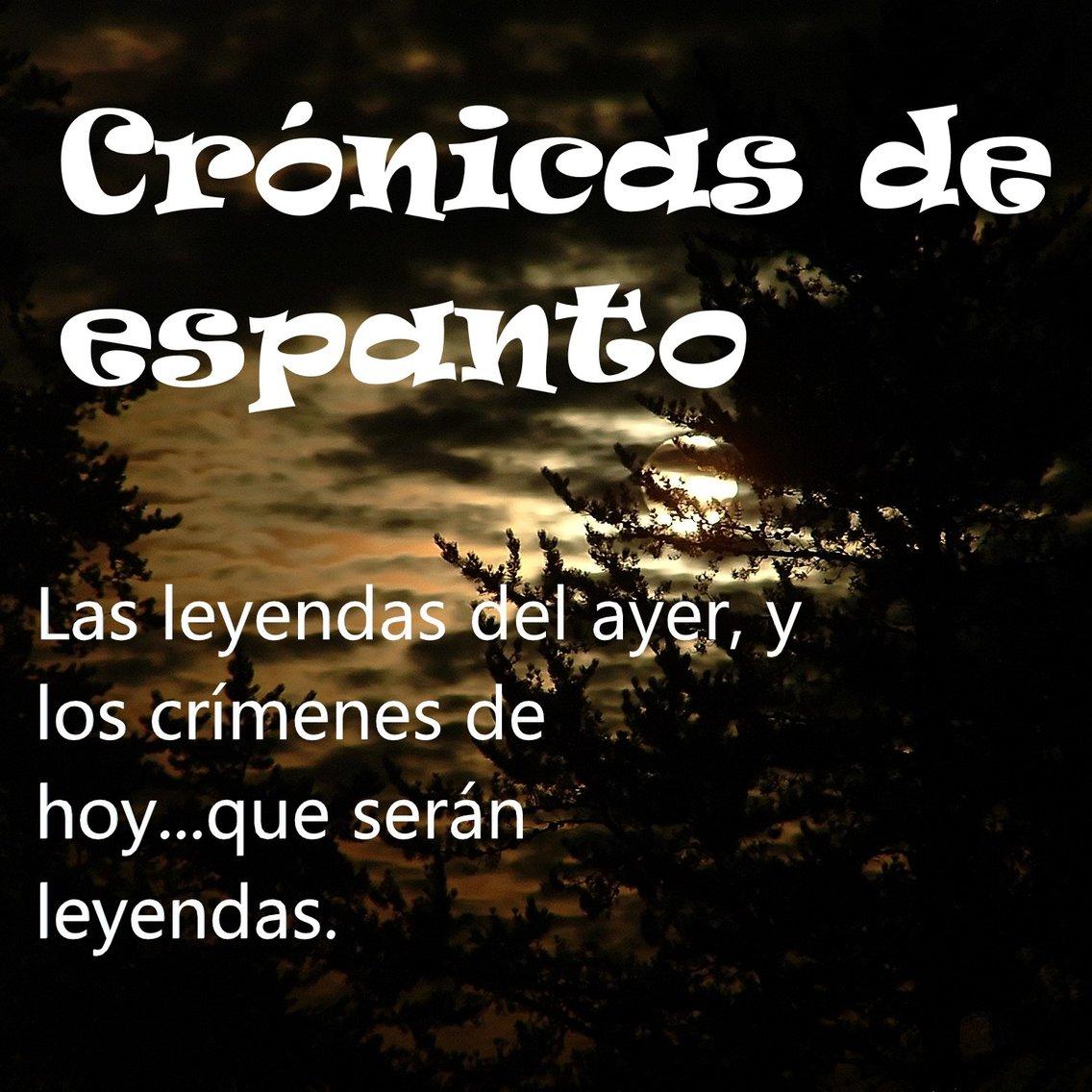 Crónicas de espanto. - Cover Image