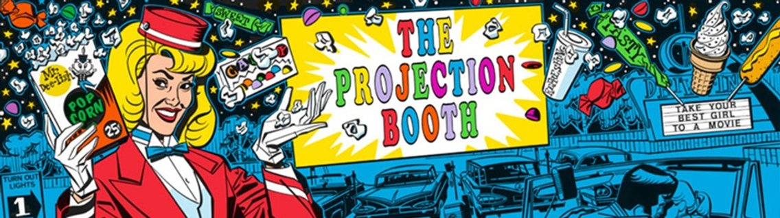 The Projection Booth Podcast - Cover Image