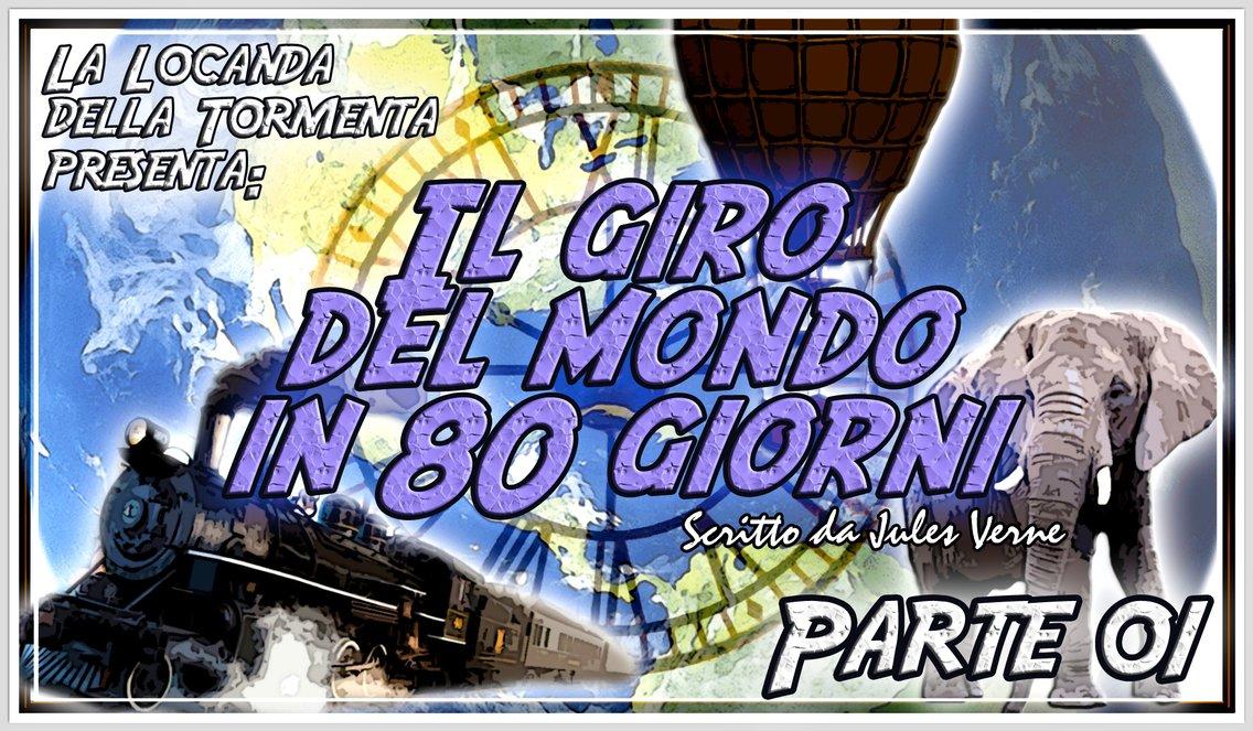 Audiolibro Il Giro del mondo in 80 giorni - Jules Verne - immagine di copertina