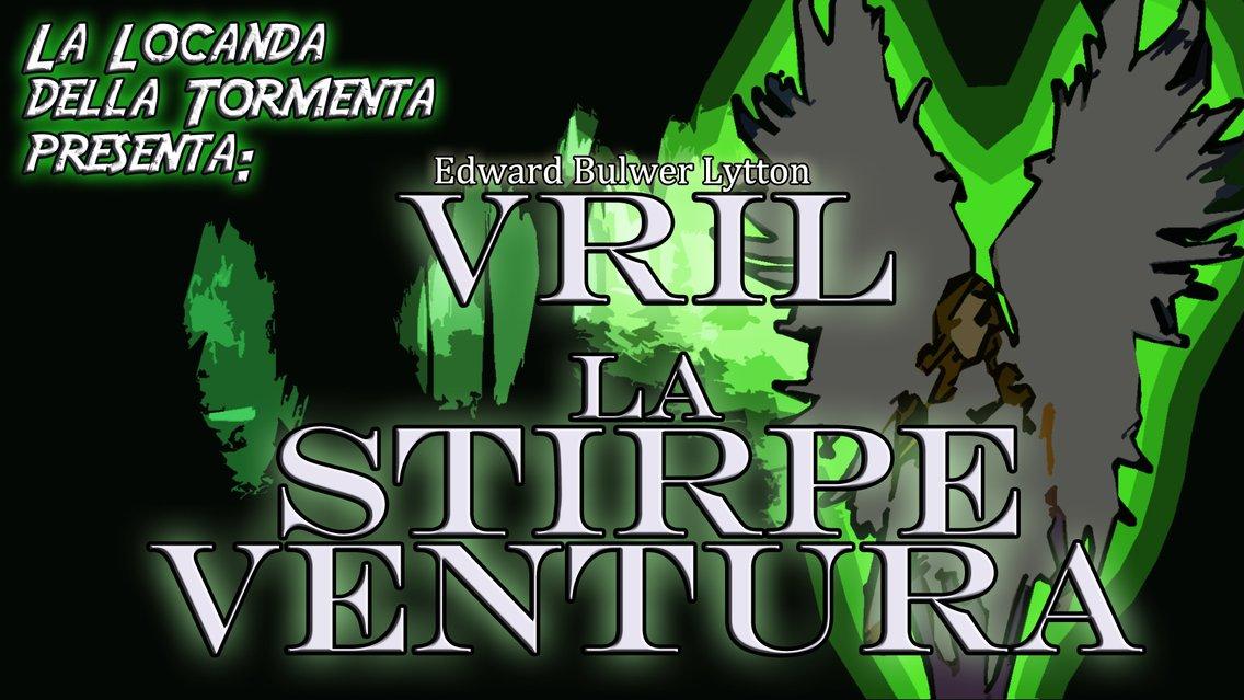 Audiolibro VRIL La stirpe ventura - E.B. Lytton - immagine di copertina