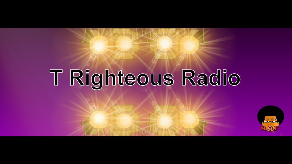 T Righteous Radio - Cover Image