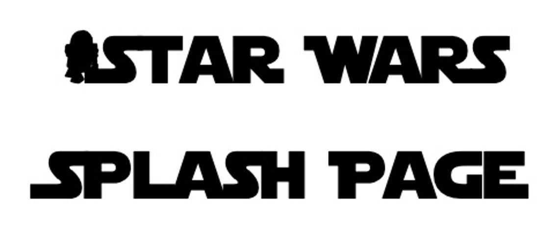 Star Wars Splash Page - Comics In Review - Cover Image