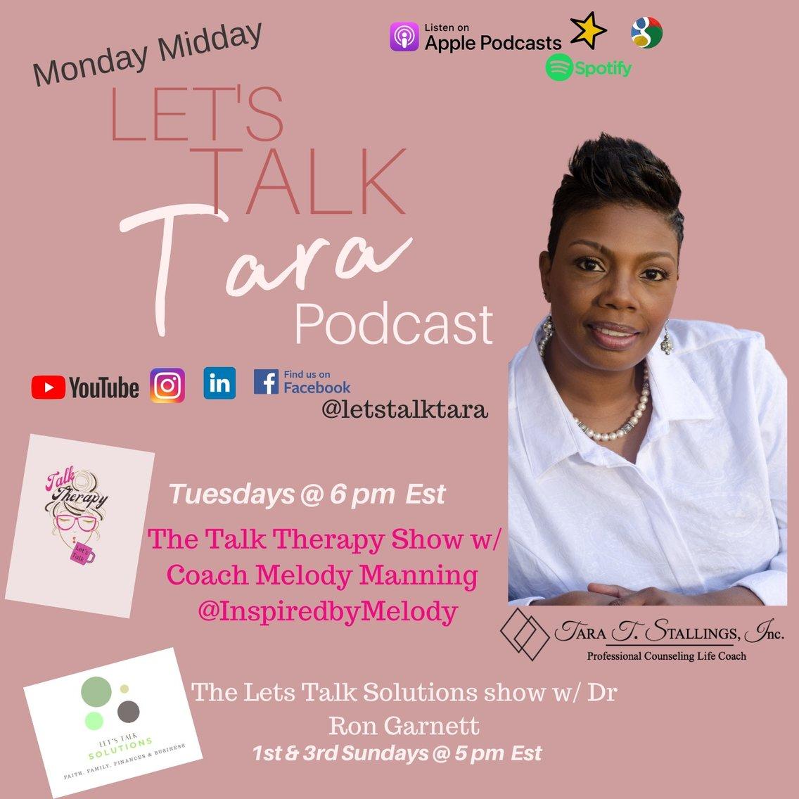 Let's Talk Tara Show - Cover Image