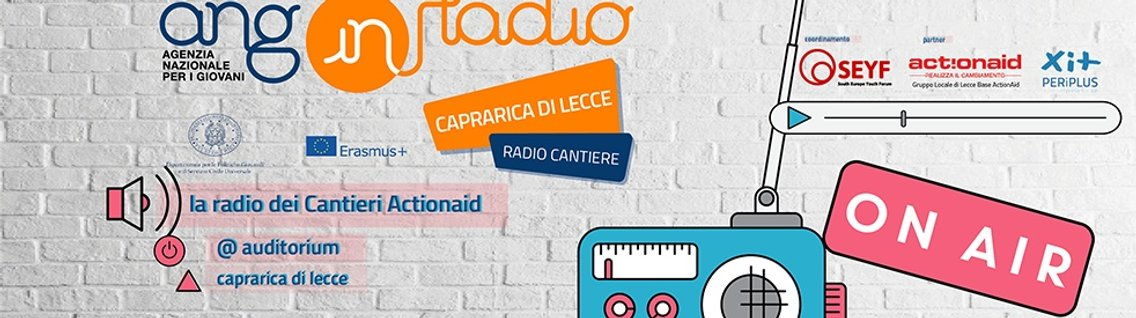 ANG inRadio -  Radio Cantiere - Cover Image