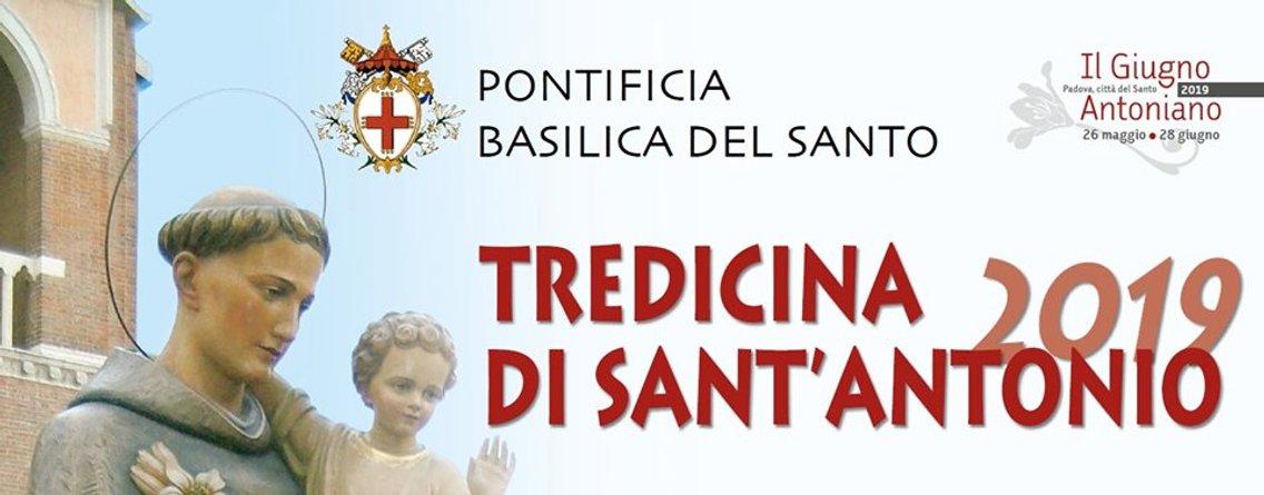 Tredicina di S. Antonio 2019 - Cover Image