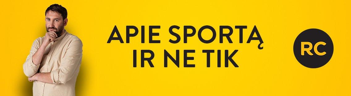APIE SPORTĄ IR NE TIK - Cover Image