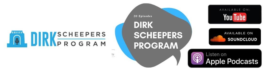 Dirk Scheepers Program - Cover Image