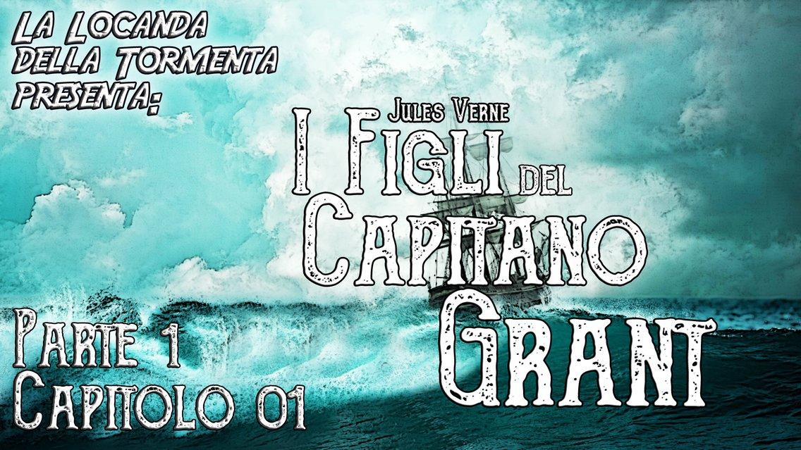 Audiolibro I Figli del Capitano Grant - Jules Verne - immagine di copertina