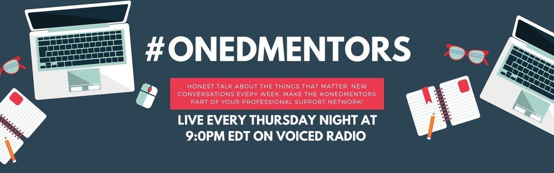 #ONedMentors on voicEd Radio - imagen de portada