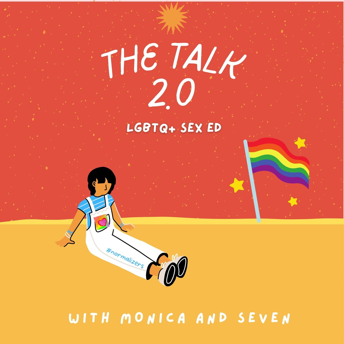 """""""The Talk"""" 2.0 with the Normalizers - Cover Image"""