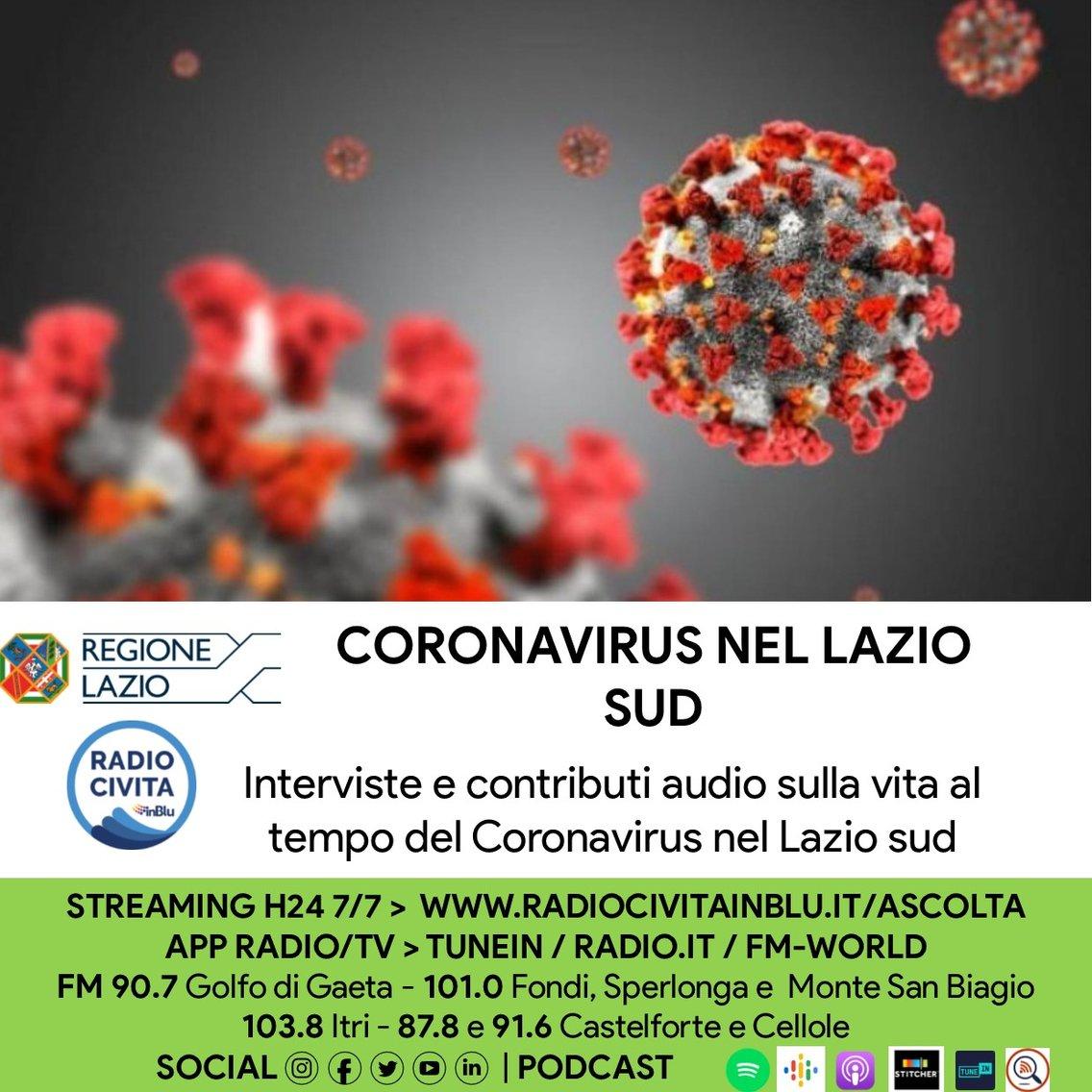 Coronavirus nel Lazio sud - Cover Image